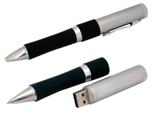 Pen USB drive black and silver